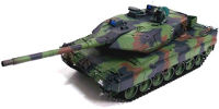 German Leopard 2 A6 Airsoft RC Battle Tank 1:16 with Smoke 2.4GHz