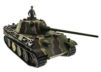 Panther Type F Airsoft RC Tank 1:16 Metal with Smoke 2.4GHz