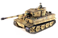 Tiger 1 Late Version Airsoft RC Tank 1:16 Metal with Smoke 2.4GHz