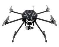 Walkera QR X800 FPV Quadcopter with Devo 10, G2D, iLook 2.4GHz/5.8GHz RTF