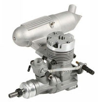 ASP 75AII 2-Stroke Glow Engine with Muffler 12cc (нажмите для увеличения)