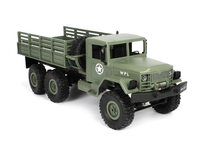 Aosenma WPL B-16 Military Truck 6x6 Green 1:16 2.4GHz