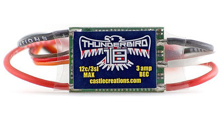 ��������� �������� Castle Creations Thunderbird 18A Brushless ESC (CSE-010-0058-00) (������� ��� ����������)