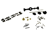 WPL B-16, B-36 Middle Axle Metal Upgrade Set