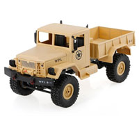 Aosenma WPL Military Truck Sand Yellow 1:16 2.4GHz (нажмите для увеличения)