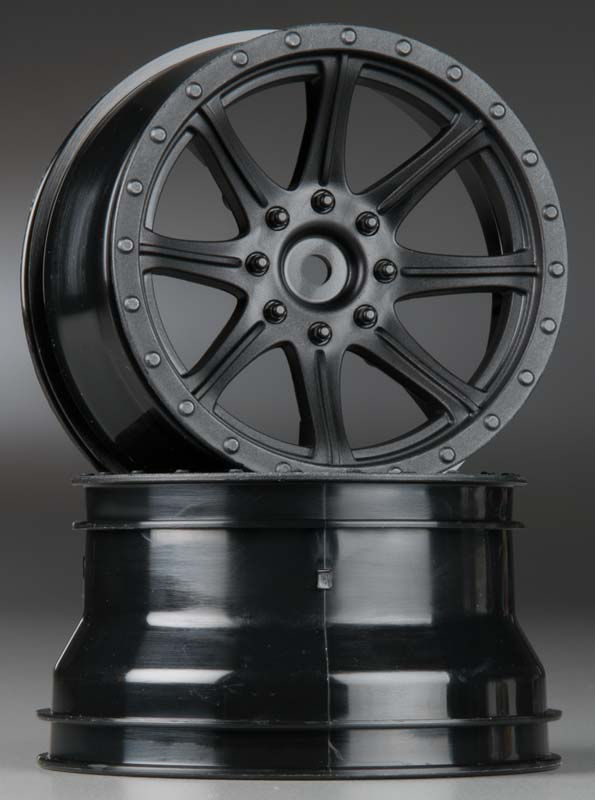 Диски колёсные Arrma Granite Black Wheels 73x49mm HEX12mm 2pcs (AR510023) (нажмите для увеличения)
