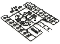 Axial SCX10 Exterior Detail Parts Tree Black (нажмите для увеличения)