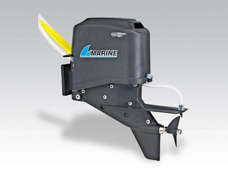 устройство электродвигателя для лодки
