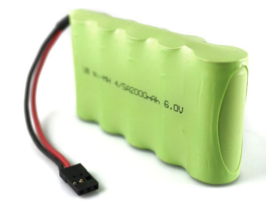 Аккумулятор VBPower NiMh 4/5A Battery 6V 2000mAh Receiver Pack (VB-RX-2000-5N) (нажмите для увеличения)