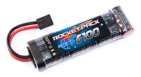Team Orion Rocket Pack 8.4V 5100mAh Stick NiMh with TRX Plug (нажмите для увеличения)