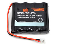 Spektrum Transmitter Battery Pack 4.8V NiMh 2000mAh DX7s, DX8 (нажмите для увеличения)