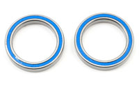 Ball Bearings 20x27x4mm Blue Rubber Sealed 2pcs