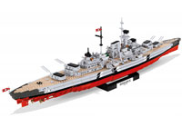 Cobi Historical Collection WW2. Battleship Bismarck 1:300