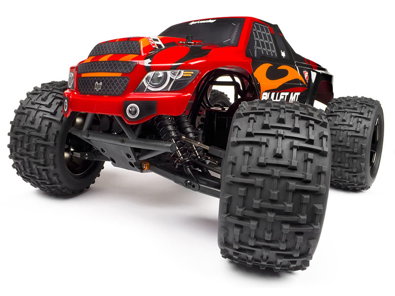 Кузов Trimmed and Painted Body Bullet MT Flux with Decals (HPI-101659) (нажмите для увеличения)