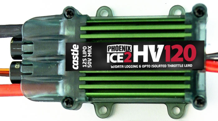 ��������� �������� Align Castle Creations Phoenix Ice2 HV 120A 50V ESC (HES12001AT) (������� ��� ����������)