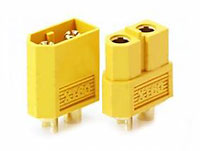 XT60 Male and Female Yellow Color 3.3mm Connector