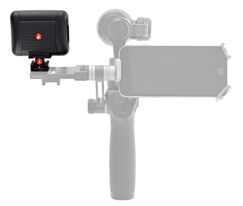 Светодиодная вспышка DJI Osmo Manfrotto Lumie Art LED Light (DJI-OSMO-LED) (нажмите для увеличения)