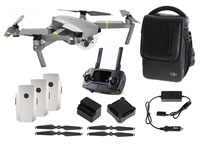 DJI Mavic Pro Platinum Drone with 4K-Camera Combo Pack