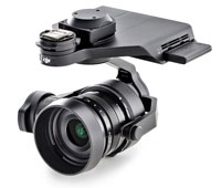DJI Zenmuse X5R Gimbal and RAW-Camera Unit MFT 15mm F/1.7