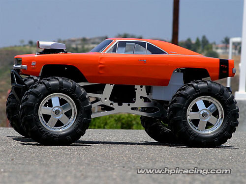Dodge Charger 1969 Clear Body