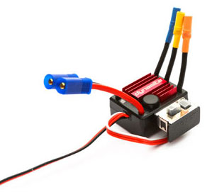 Регулятор скорости Dynamite Tazer Mini Brushless Waterproof 25A ESC (DYNS1425) (нажмите для увеличения)