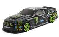 Gittin Jr 13 Monster Energy Ford Mustang E10 Drift 2.4GHz RTR
