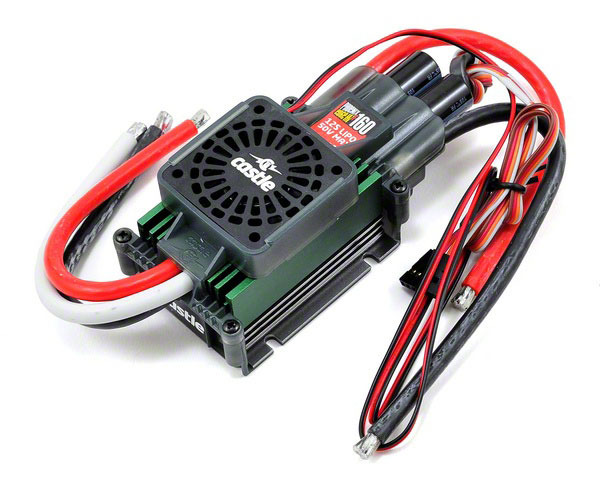 Регулятор скорости Castle Creations Phoenix Edge 160HVF 50V 160A ESC with Fan (CSE-010-0127-00) (нажмите для увеличения)