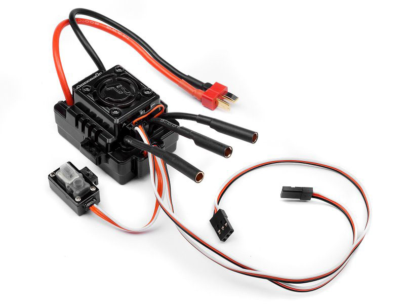Регулятор скорости HPI Flux EMH-3S Waterproof Brushless ESC (HPI-112851) (нажмите для увеличения)