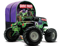 Grave Digger 2WD Monster Truck 1/16 RTR