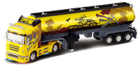 Container Gas Truck Yellow 1:32
