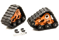 Snowmobile & Sandmobile Conversion Kit Orange Slash 4x4 2pcs (нажмите для увеличения)