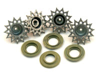HengLong Snow Leopard Metal Sprocket and Drive Wheels 3838