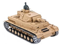 DAK Pz.Kpfw.IV Ausf. F-1 Airsoft RC Battle Tank 1:16 PRO with Smoke RTR (нажмите для увеличения)