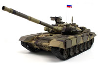 Russian T90 Airsoft RC Battle Tank 1:16 with Smoke 2.4GHz