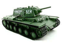 Russian KV-1 Ehkranami Airsoft RC Battle Tank 1:16 2.4GHz