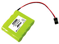 Hitec Rx NiMh Battery Pack 4.8V 1300mAh S-01