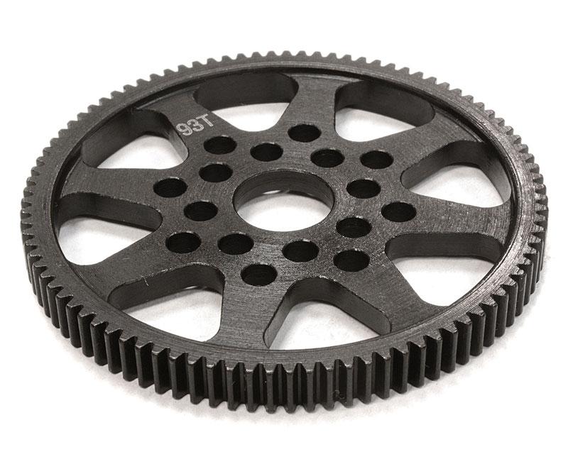 Шестерня спур Integy Steel 93T Spur Gear 48 Pitch Sprint 2 (INT-C26293) (нажмите для увеличения)