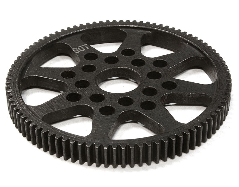 Шестерня спур Integy Steel 90T Spur Gear 48 Pitch Sprint 2 (INT-C26295) (нажмите для увеличения)