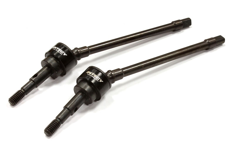 Привода колёсные Integy Front Drive Shaft Set SCX-10 2pcs (INT-C25341BLACK) (нажмите для увеличения)