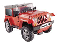 Cobi Electronic. Jeep Wrangler Red with Bluetooth (нажмите для увеличения)