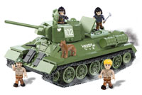 Cobi Small Army. T-34/85M Rudy102