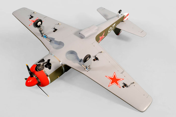Радиоуправляемый самолет Phoenix La-9 Scale Model 25-33cc with Air Retracts ARF (PH112) (нажмите для увеличения)