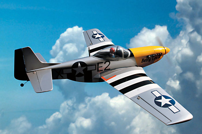 P-51D Mustang with Landing Gear (11823LB) (������� ��� ����������)