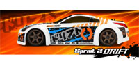 Nissan 350Z Sprint 2 Drift Sport Waterproof 2.4GHz RTR