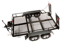 Integy Realistic Scale 1/10 Dual Axle Scale Trailer Kit