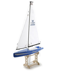 Westward V2 18-inch Sailboat 460mm 2.4GHz RTR