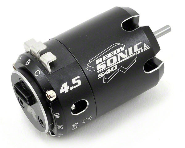 Бесколлекторный двигатель Reedy Sonic Mach 2 Modified Brushless Motor 4.5T 7399kV (AS244) (нажмите для увеличения)