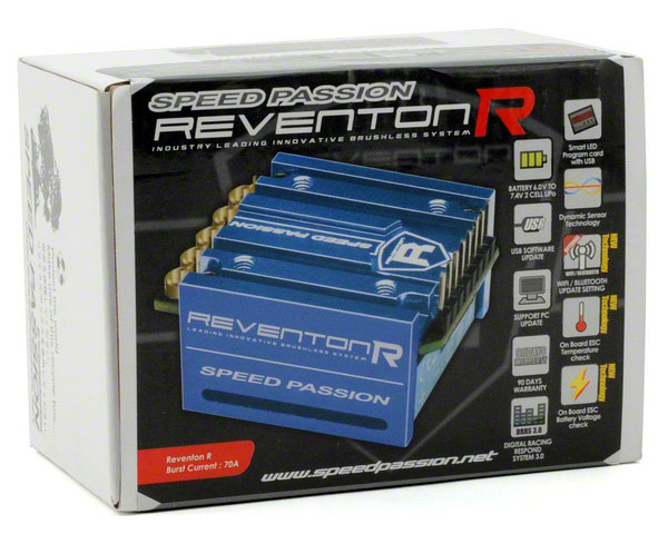��������� �������� Speed Passion Reventon-R ESC Sensored Blue (SP000063) (������� ��� ����������)