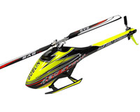 SAB Goblin 420 Flybarless Electric Helicopter Yellow/Black Kit with Blades