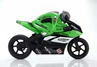 SB5 Motorcycle 1/5 IFHSS Green 2.4GHz RTR